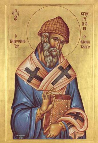Sf. Ierarh Spiridon al Trimitundei făcătorul de minuni